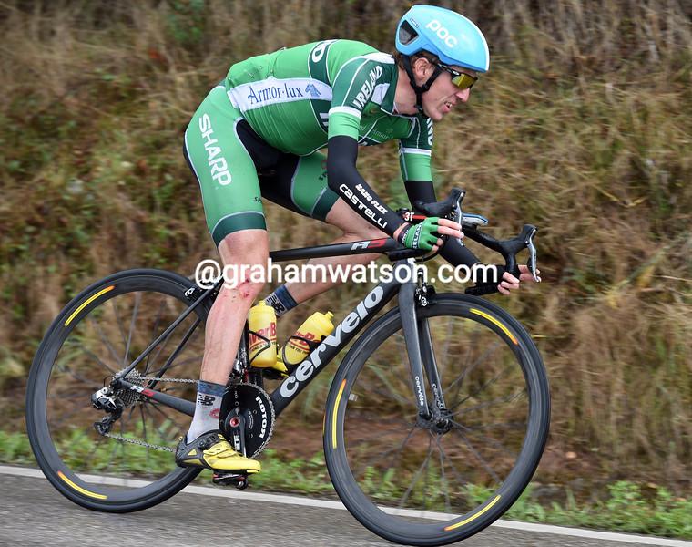 Dan Martin in the 2014 World Road Championships