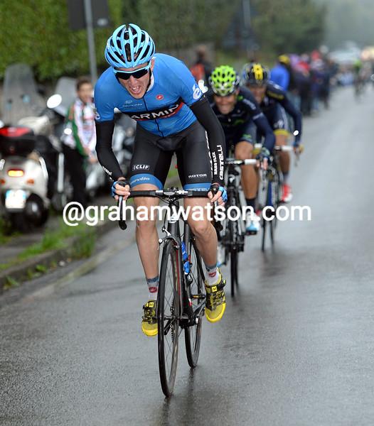 Dan Martin in the 2013 Il Lombardia