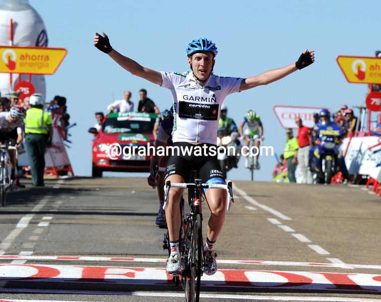 DANIEL MARTIN WINS STAGE NINE OF THE 2011 TOUR OF SPAIN