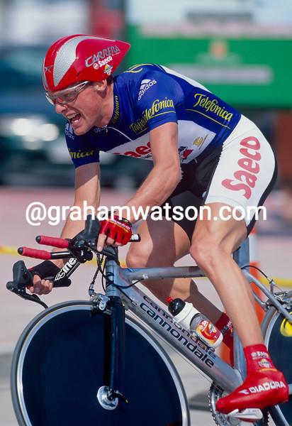 Danilo Di Luca in the 2001 Tour of Murcia