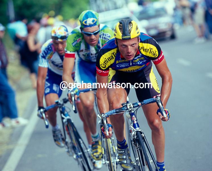 Danilo Di Luca in the 1995 Giro d'Italia