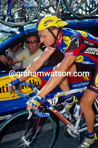 Danilo Di Luca in the 2000 Giro d'Italia