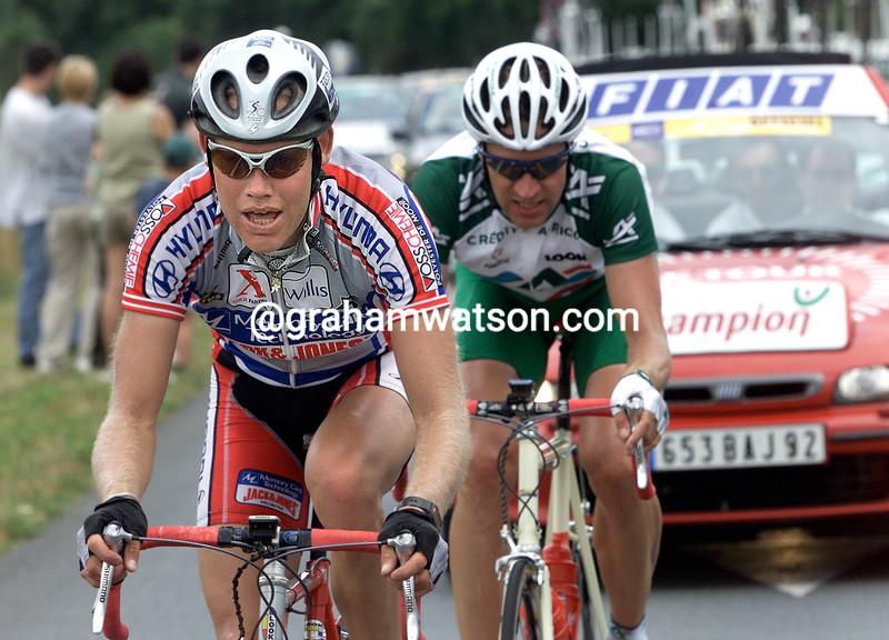 Michael Blaudzun in the 2000 Tour de France