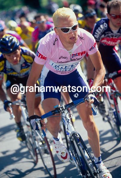 Dario Frigo in the 2003 Giro d'Italia