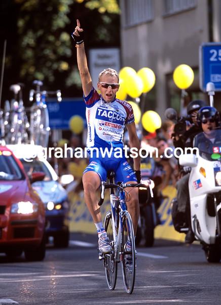 Dario Frigo wins the Zurich Championship