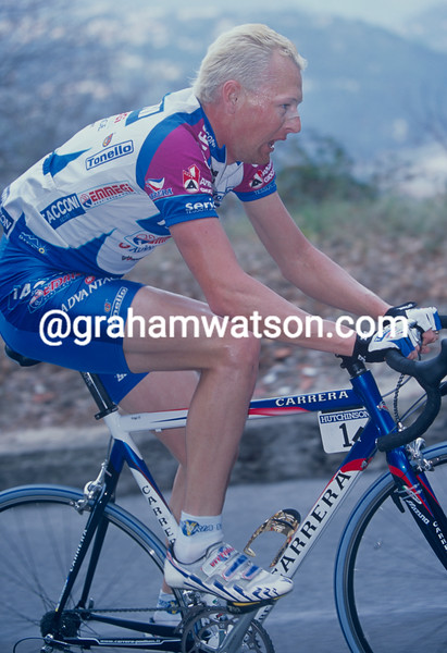 Dario Frigo in the 2001 Paris-Nice