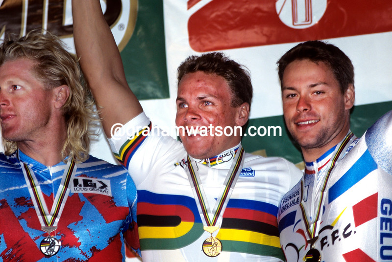 Darren Hill in the 1995 World Championships
