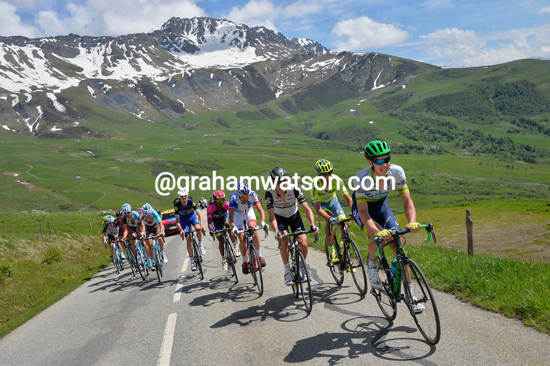 Daryl Impey on stage six of the 2016 Dauphine-Libere