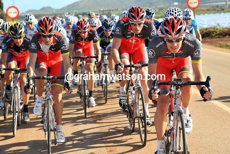 RADIO SHACK LEADS ON STAGE ONE OF THE TOUR OF MURCIA