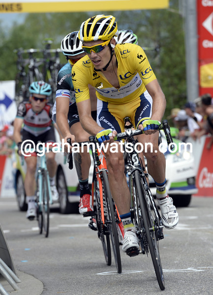 Daryl Impey on stage eight of the 2013 Tour de France