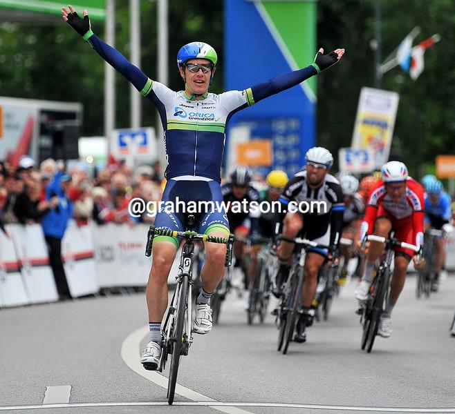 Daryl Impey wins stage 3 of the 2014 Bayern Rundfahrt
