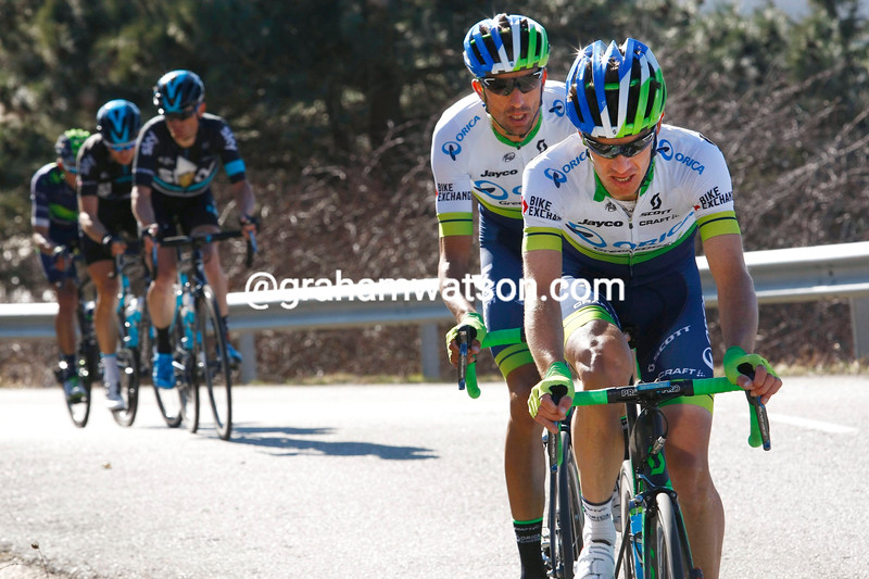 Daryl Impey on stage three of the 2016 Volta a Catalunya