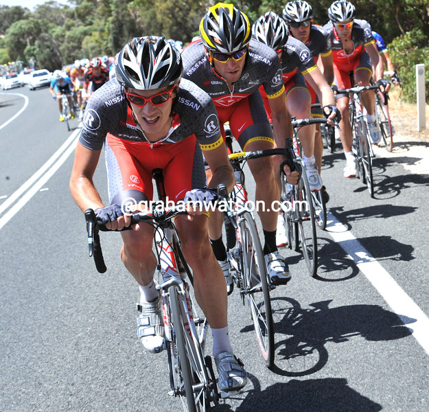 DARYL IMPEY ON STAGE FOUR OF THE TOUR DOWN UNDER