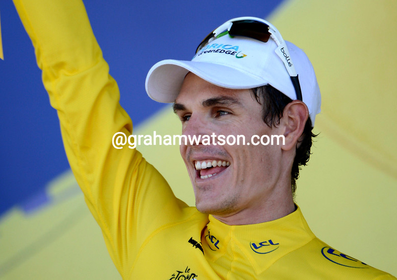 Daryl Impey after stage six of the 2013 Tour de France