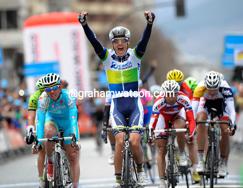 Daryl Impey wins stage two of the 2013 Basque Country Tour