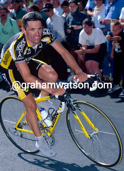 David Etxebarria in the 1998 Tour de France