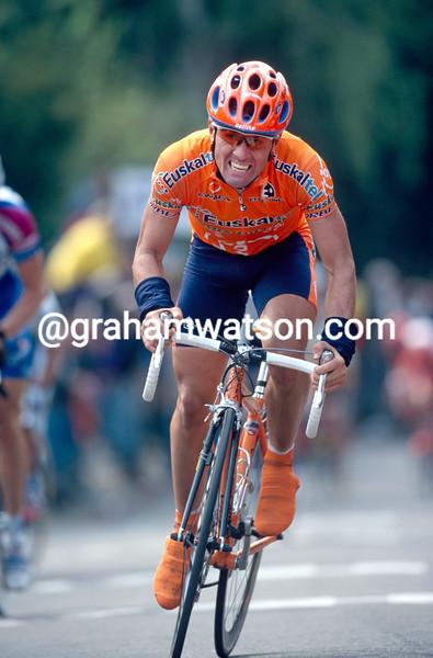 David Etxebarria in the 2001 Tour de France