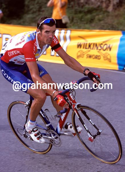 DAVID MILLAR IN THE 2001 VUELTA A ESPANA