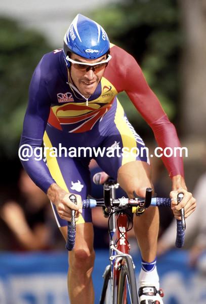 David Millar in the 2001 World TT championship