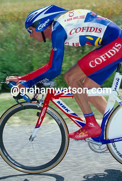 David Millar in the 2000 Tour of Spain