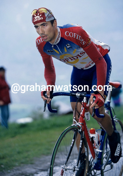 David Moncoutie in the 1997 Tour de Romandie