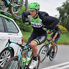 David Tanner on stage four of the 2014 Tour of Poland