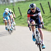 David Tanner escapes in the 2015 Amstel Gold Race