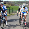 David Tanner and Andre Grivko escape in the Amstel Gold Race