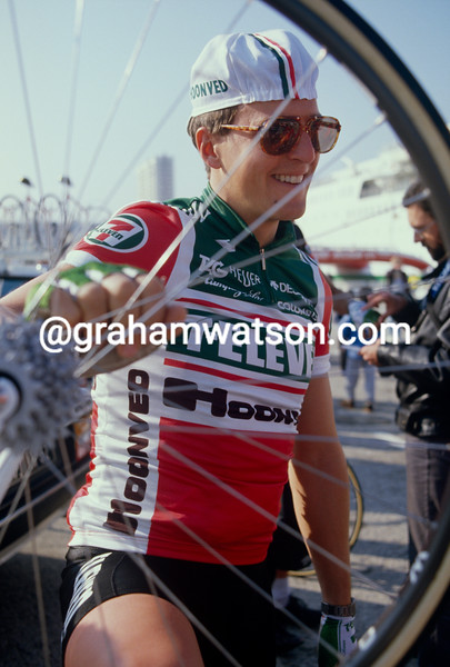 Davis Phinney in the 1988 Paris-Nice