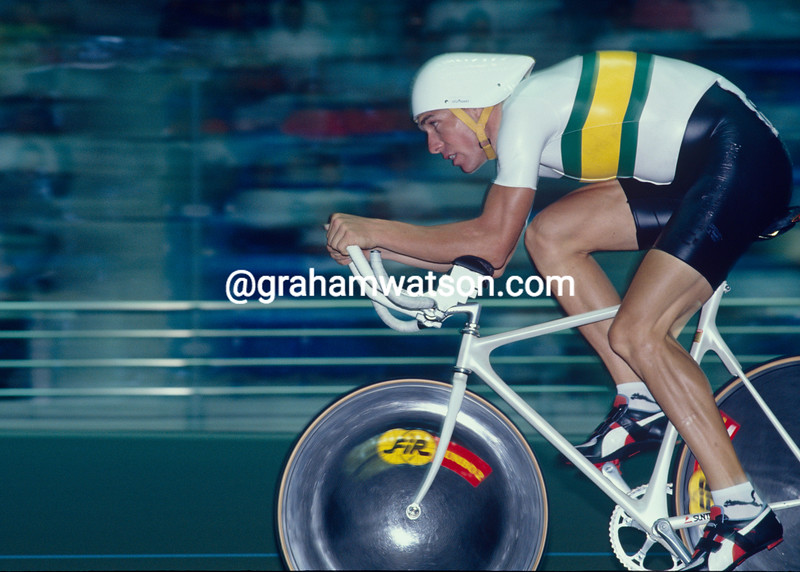Dean Woods in the 1985 World Championships