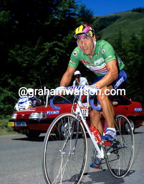 djadmolodine abdujaparov in the 1991 tour de france