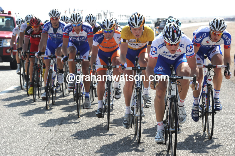 DOMINIC ROLLIN LEADS AN ESCAPE IN THE 2011 TOUR OF QATAR