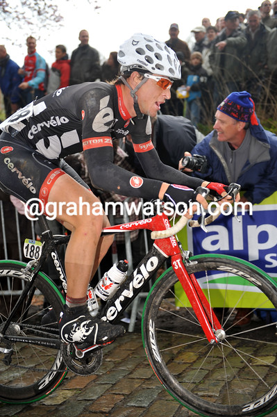 DOMINIQUE ROLLIN IN THE 2009 GHENT-WEVELGEM