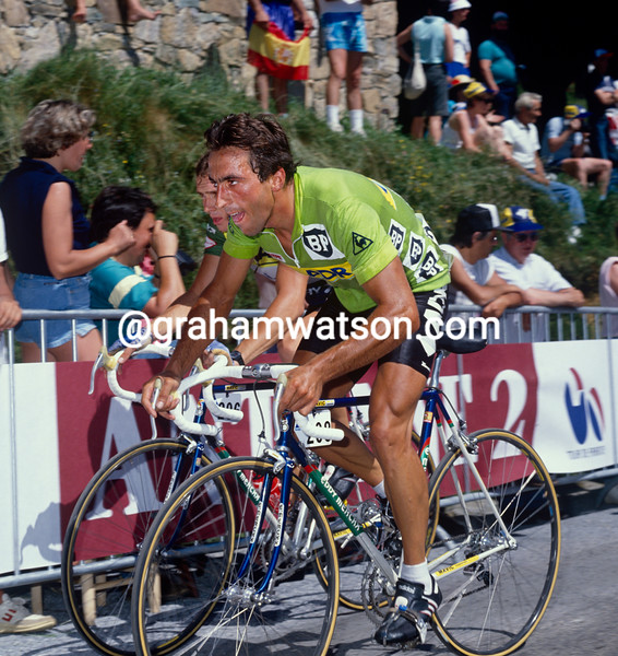 Eddy Planckaert in the 1988 Tour de France