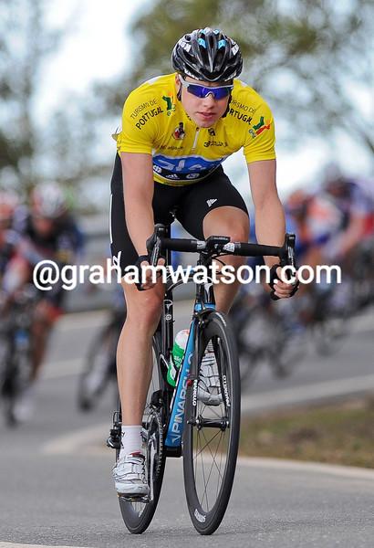 Edvald Boasson Hagen on stage three of the 2012 Tour of Algarve