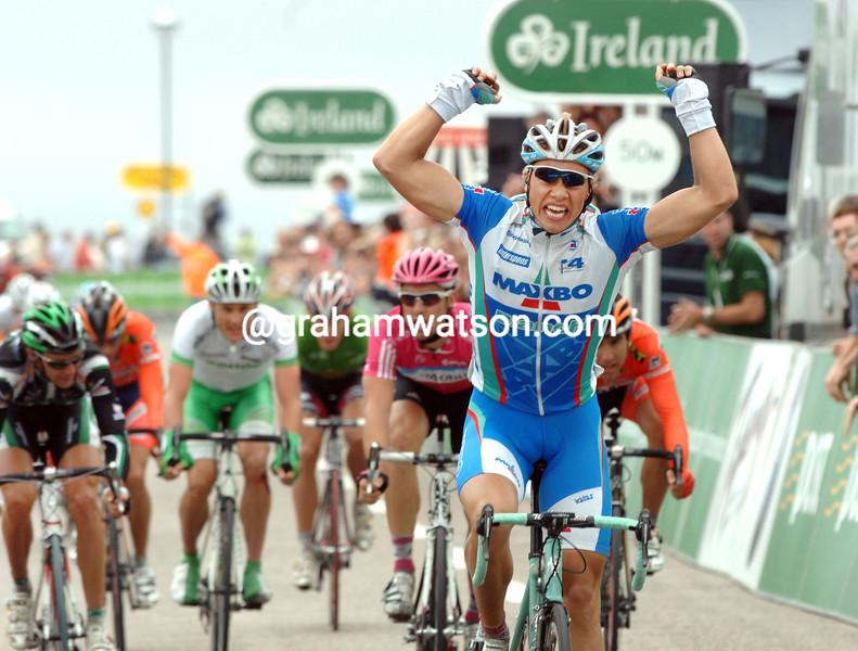 EDVALD BOASSON HAGEN WINS STAGE FOUR OF THE 2007 TOUR OF IRELAND