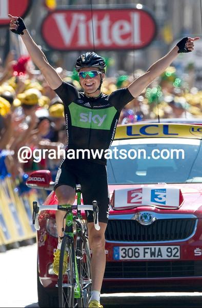 EDVALD BOASSON HAGEN WINS STAGE SEVENTEEN OF THE 2011 TOUR DE FRANCE