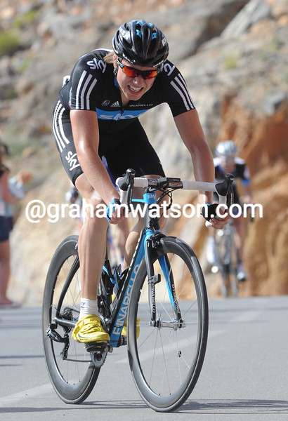EDVALD BOASSON HAGEN AFTER STAGE FOUR OF THE 2011 TOUR OF OMAN