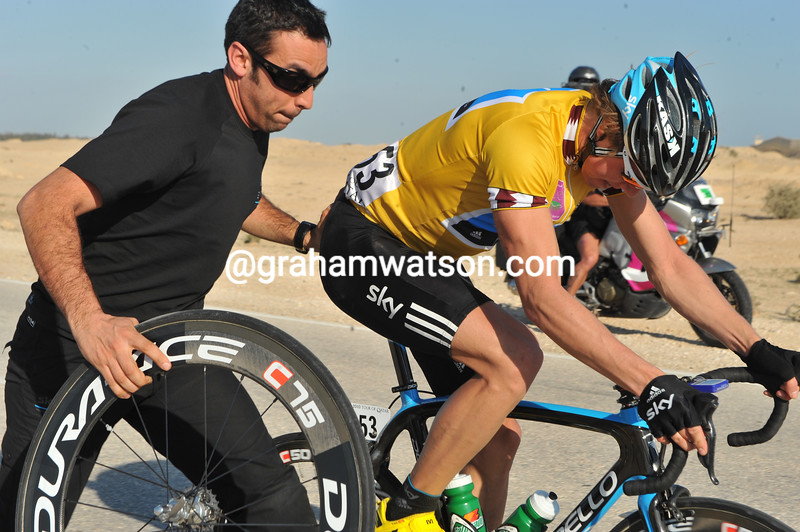 EDVALD BOASSON HAGEN ON STAGE TWO OF THE 2010 TOUR OF QATAR
