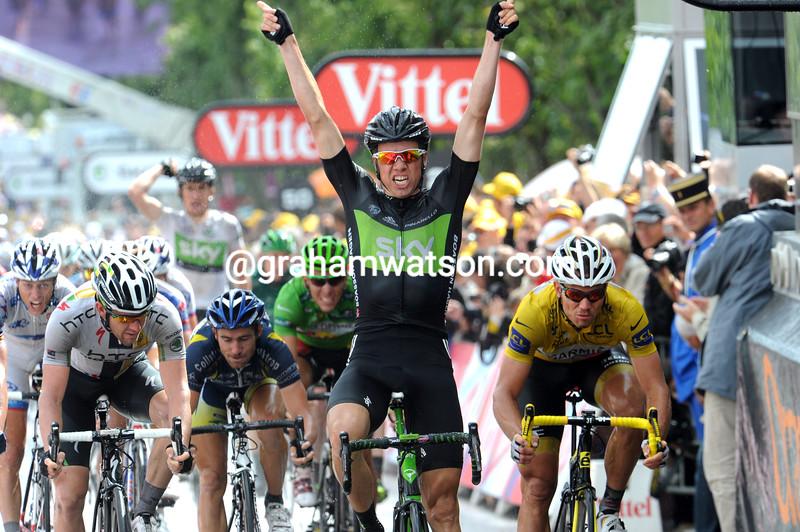 EDVALD BOASSON HAGEN WINS STAGE SIX OF THE 2011 TOUR DE FRANCE