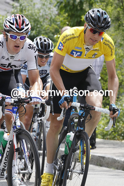 EDVALD BOASSON HAGEN ON STAGE TWO OF THE 2011 BAYERN RUNDFAHRT