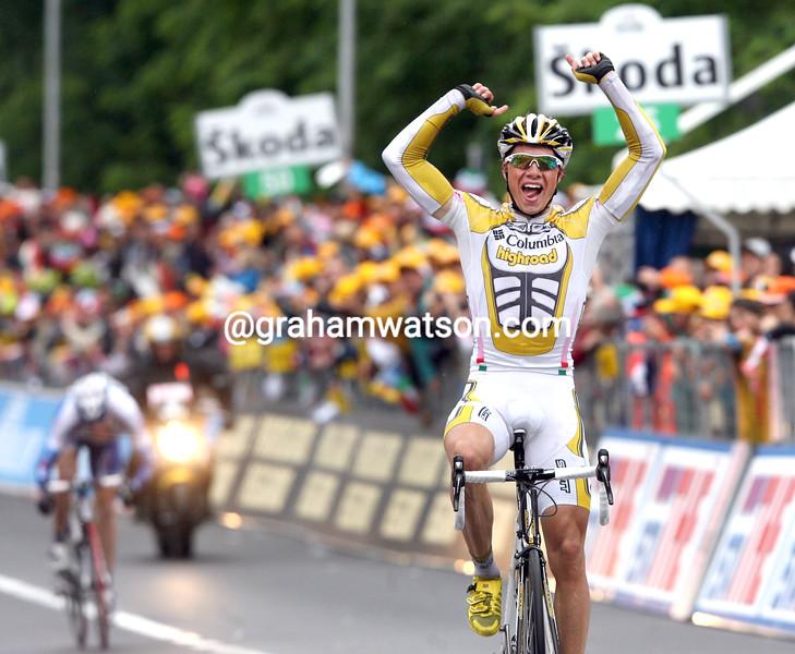 EDVALD BOASSON HAGEN WINS STAGE SEVEN OF THE 2009 GIRO D'ITALIA
