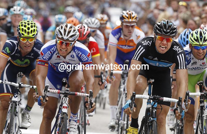 Edvald BOASSON HAGEN (Team Sky) wins the 2011 Vattenfall Cyclassics 2011