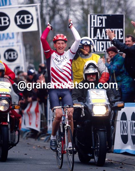 Edwig Van Hooydonck wins the 1995 Fleche Brabançonne