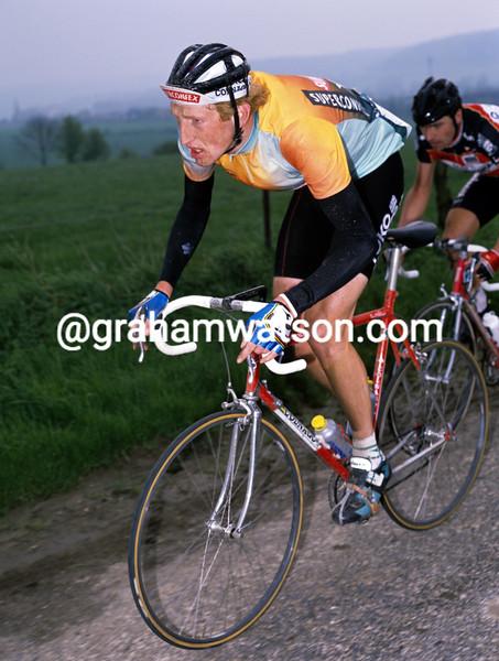 Edwig Van Hooydonck in the 1989 Amstel Gold Race