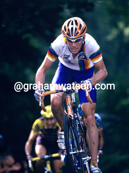 Eric Dekker in the 2001 HEW Cyclassics