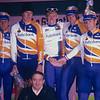 Erik Dekker and his Rabobank team in the 2001 Giro di Lombardia