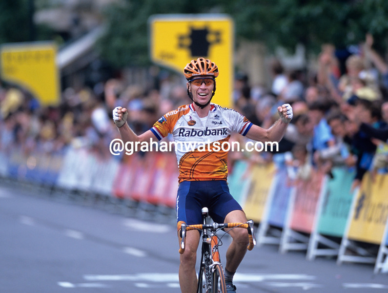 Eric Dekker wins the 2000 Clasica San Sebastian