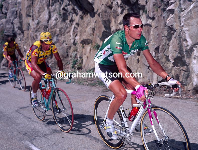 Erik Zabel in the 1997 Tour de France