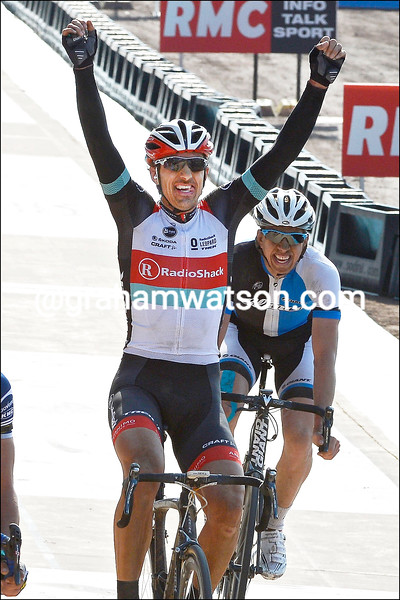 Fabian Cancellara wins the 2013 Paris-Roubaix